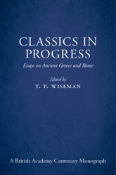 Classics in ProgressEssays on Ancient Greece and Rome
