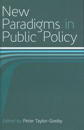 New Paradigms in Public Policy