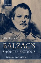 Balzac's Shorter FictionsGenesis and Genre