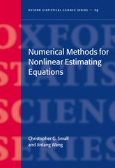 Numerical Methods for Nonlinear Estimating Equations