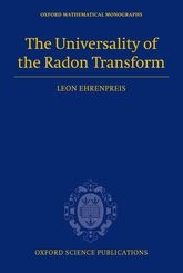 The Universality of the Radon Transform