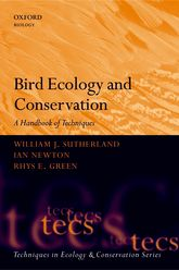 Bird Ecology and ConservationA Handbook of Techniques