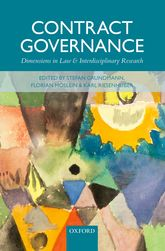 Contract GovernanceDimensions in Law and Interdisciplinary Research