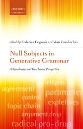 Null Subjects in Generative GrammarA Synchronic and Diachronic Perspective