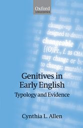 Genitives in Early EnglishTypology and Evidence