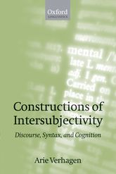 Constructions of IntersubjectivityDiscourse, Syntax, and Cognition