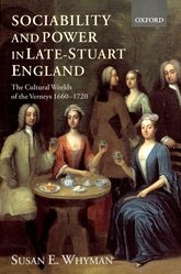 Sociability and Power in Late Stuart England