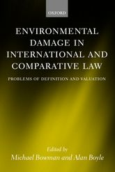 Environmental Damage in International and Comparative Law