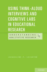 Using Think-Aloud Interviews and Cognitive Labs in Educational Research