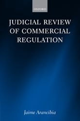 Judicial Review of Commercial Regulation