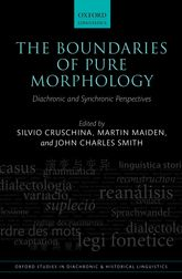 The Boundaries of Pure MorphologyDiachronic and Synchronic Perspectives