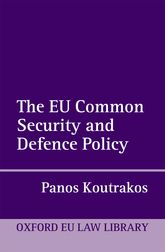The EU Common Security and Defence Policy