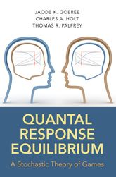 Quantal Response EquilibriumA Stochastic Theory of Games$