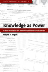 Knowledge as PowerCriminal Registration and Community Notification Laws in America