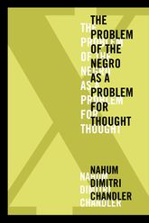 X-The Problem of the Negro as a Problem for Thought