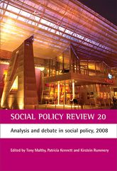 Social Policy Review 20Analysis and debate in social policy, 2008$