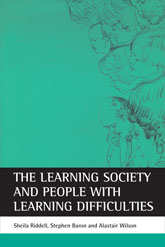 The Learning Society and people with learning difficulties$