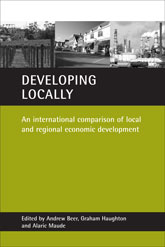 Developing locallyAn international comparison of local and regional economic development$